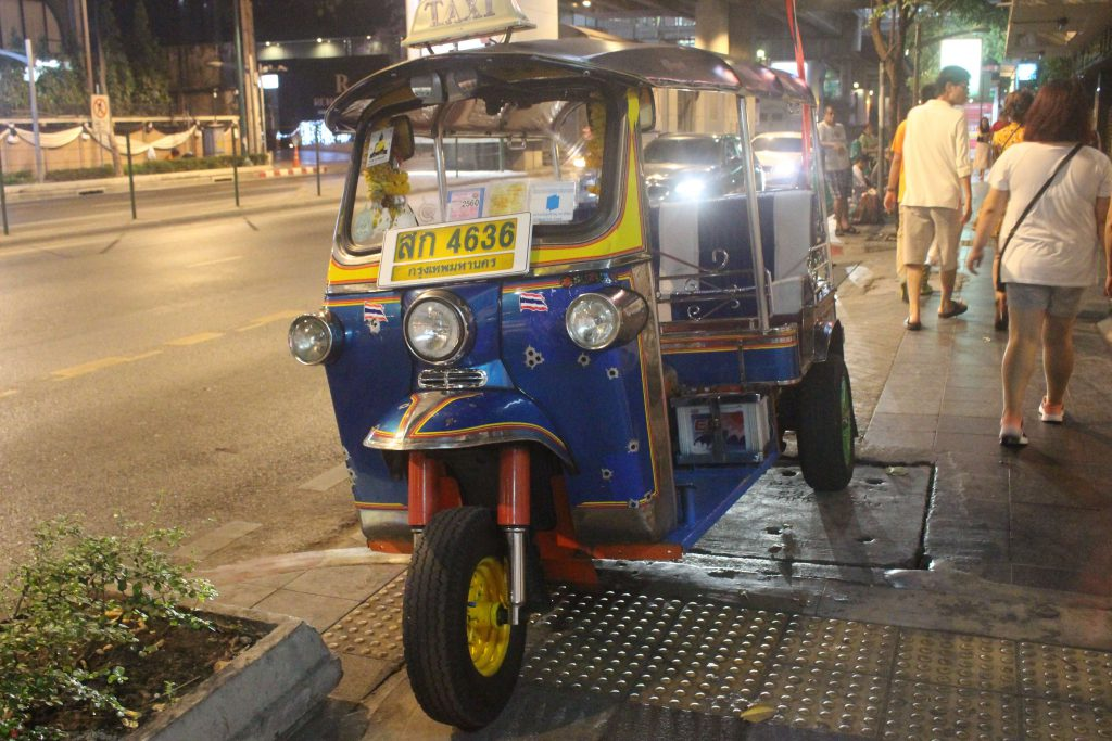 Tuktuk - One of the main transports in Bangkok