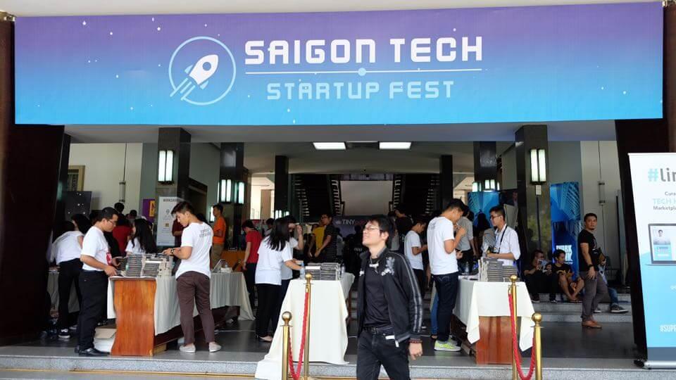 saigon tech starup fest 2016