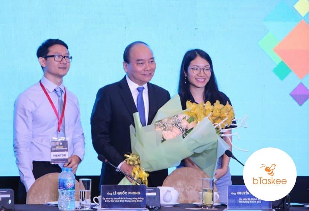 bTaskee-met-prime-minister-Nguyen-Xuan-Phuc