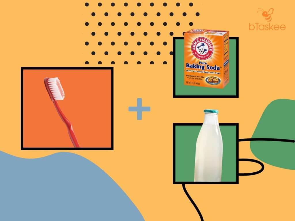 làm sạch bằng giấm và soda