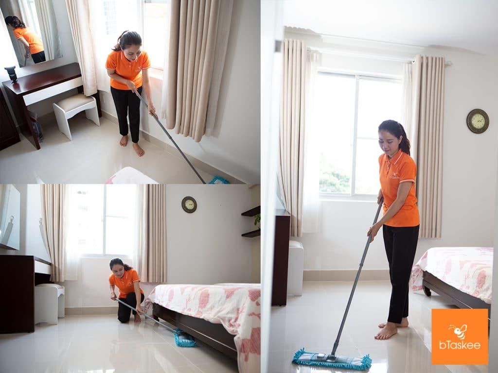 Dịch vụ giúp việc nhà theo giờ bTaskee