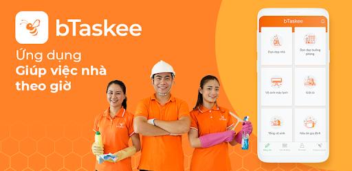 ứng dụng giúp việc nhà theo giờ btaskee