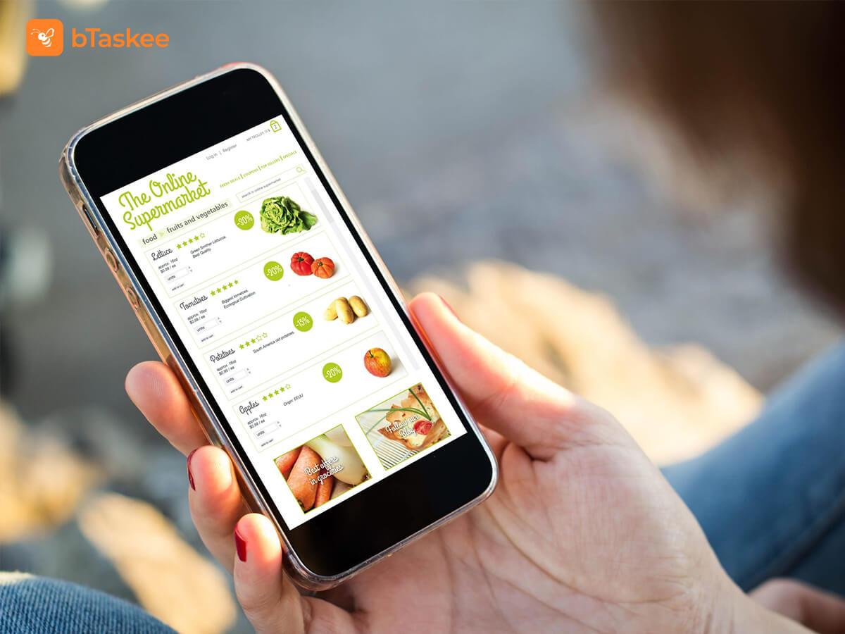 Các loại hình dịch vụ đi chợ online