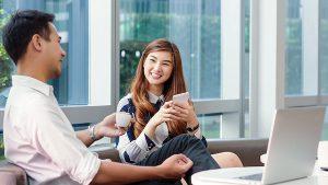 Khách hàng dễ dàng đặt lịch giúp việc nhà theo giờ trên ứng dụng bTaskee