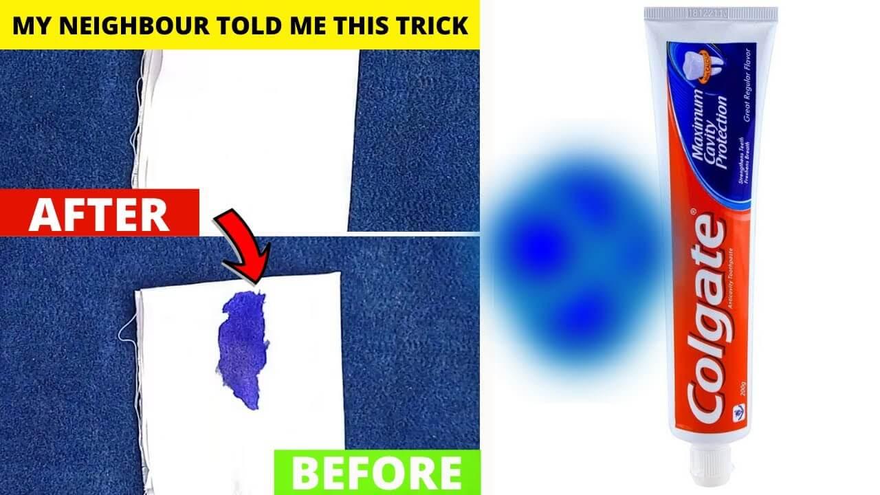 cách tẩy vết mực bút lông trên quần áo