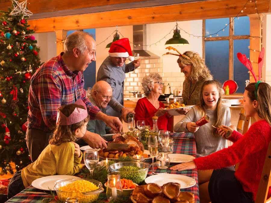 bữa tiệc giáng sinh