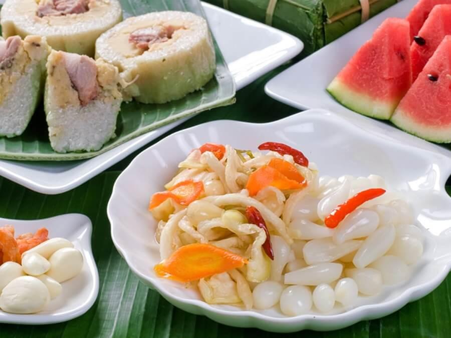 Món ăn truyền thống ngày Tết