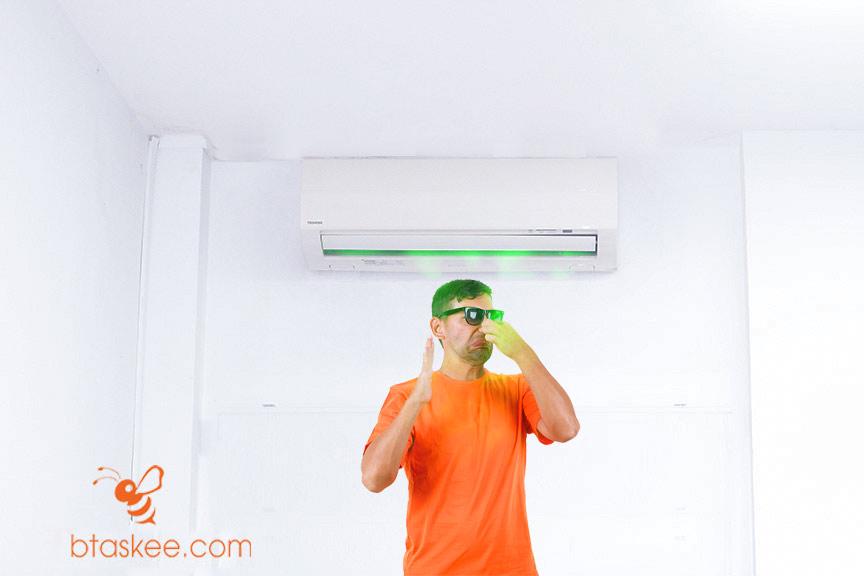 Cách khử mùi hôi khó chịu trong phòng máy lạnh