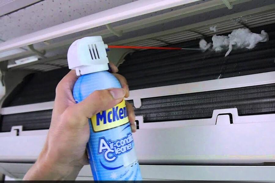 chai vệ sinh máy lạnh Mckenic