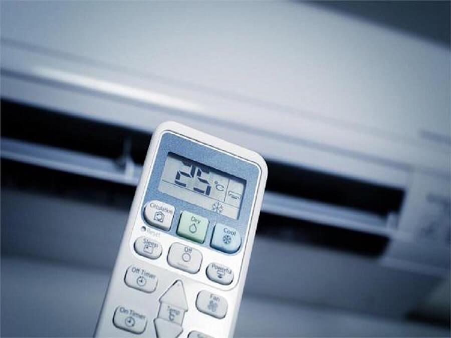 điều chỉnh nhiệt độ máy lạnh