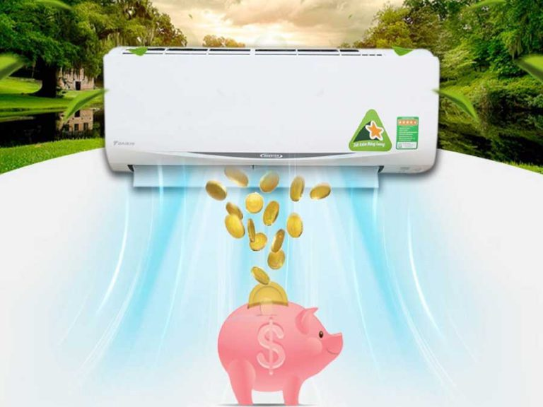 sử dụng máy lạnh tiết kiệm