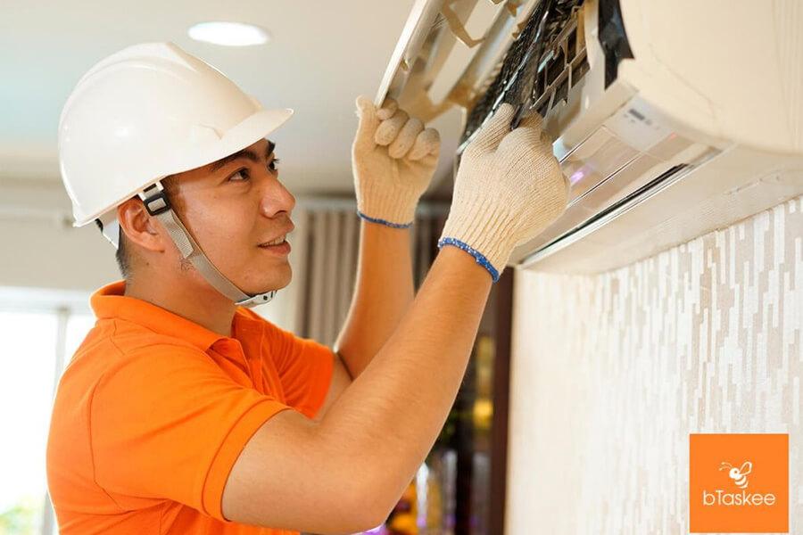 thợ vệ sinh máy lạnh btaskee