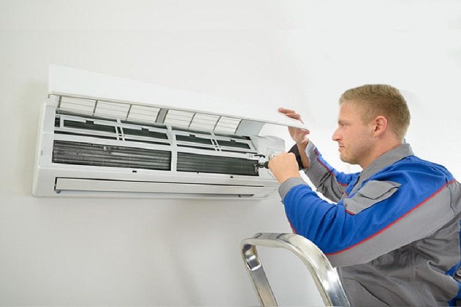 máy lạnh không mát do thiếu gas