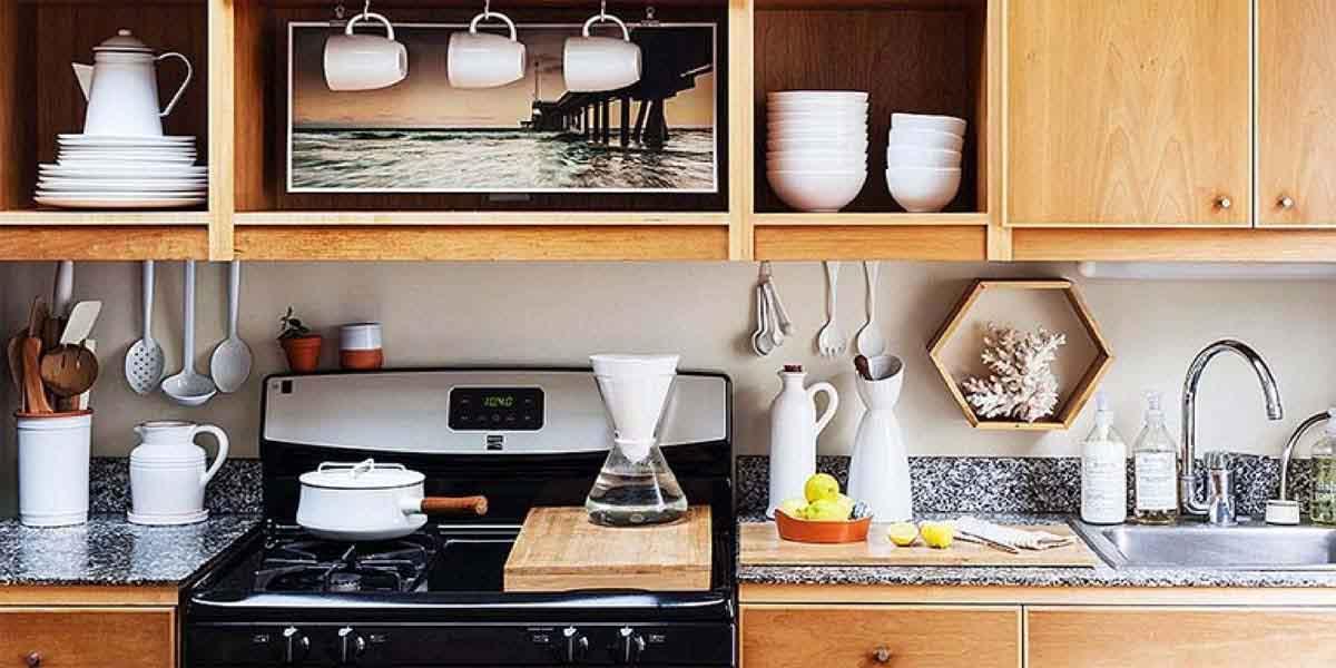cách sắp xếp nhà bếp