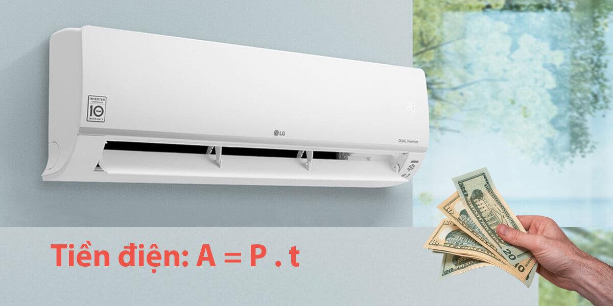 cách tính tiền điện máy lạnh