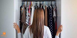 cách sắp xếp tủ quần áo