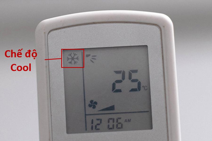 chế độ cool máy lạnh