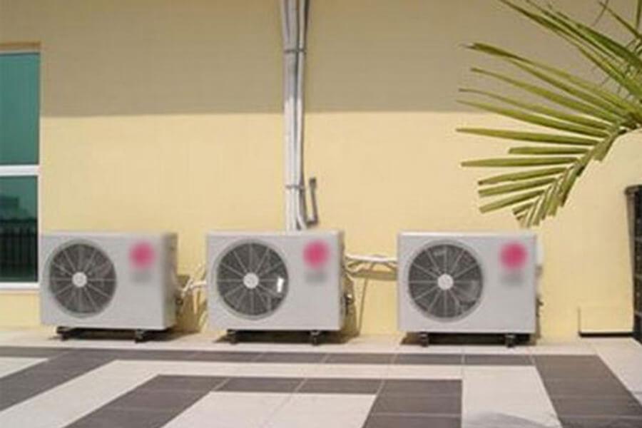 dàn nóng máy lạnh đặt gần nhau