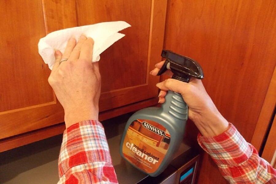 dung dịch làm sạch đồ gỗ