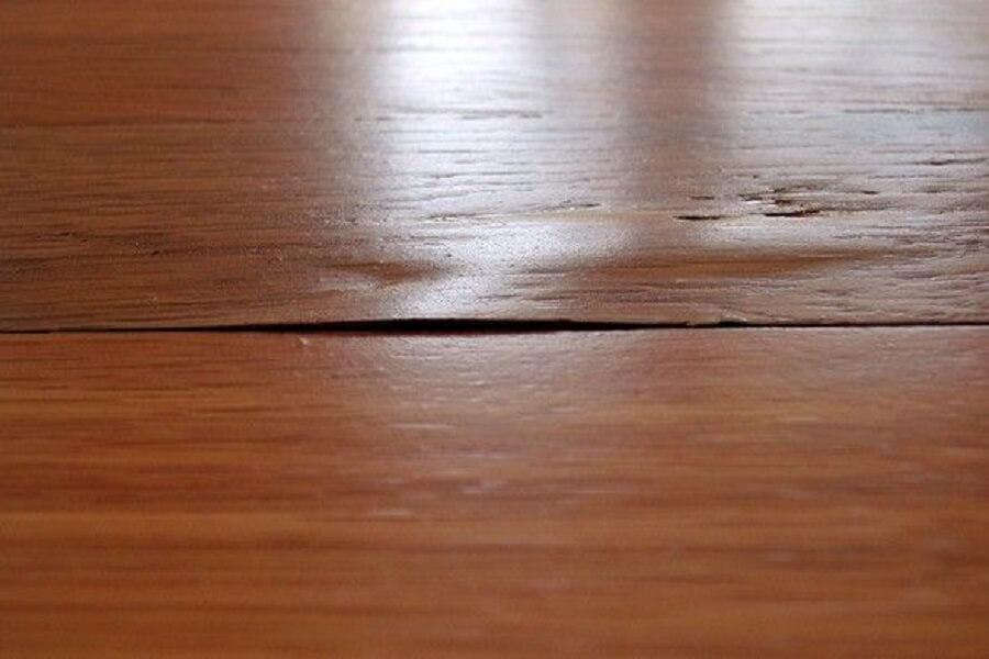 gỗ phồng rộp