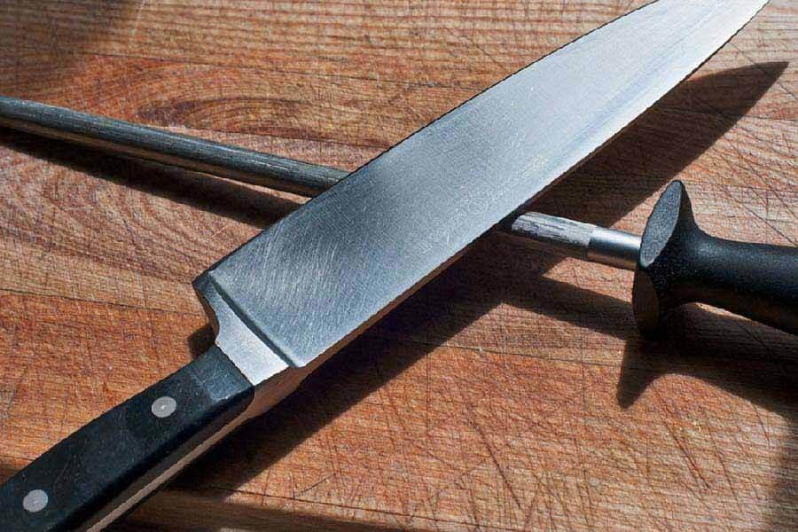 hướng dẫn mài dao bằng kim loại