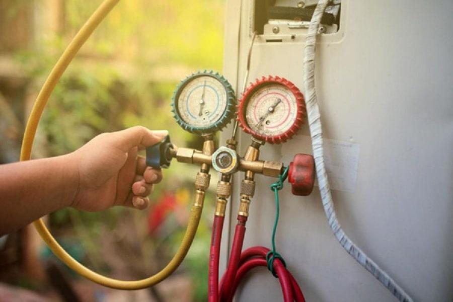 kiểm tra gas máy lạnh