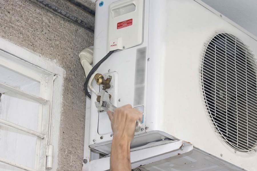 máy lạnh hết ga bị hỏng