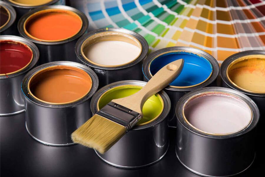 sơn tường để sơn nhà mới
