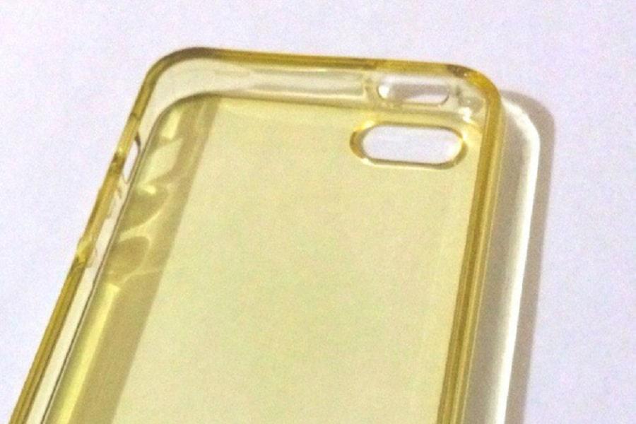 ốp lưng điện thoại bị ố vàng
