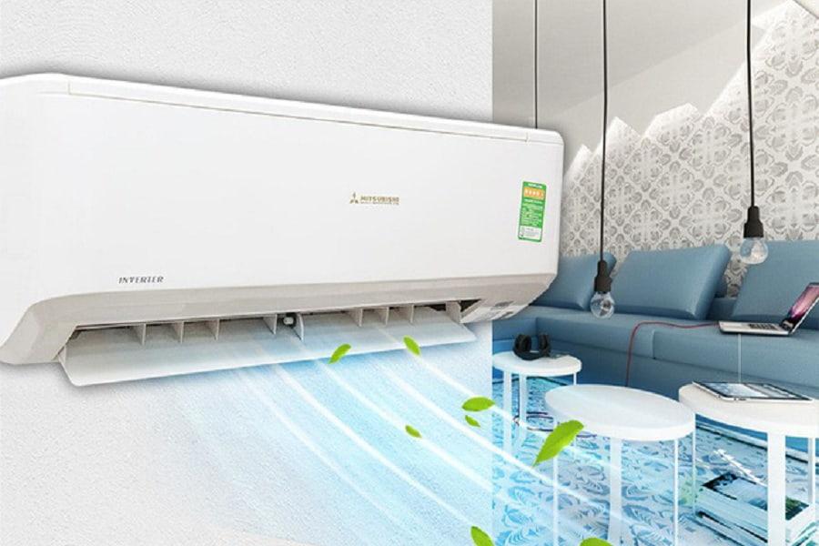 sai công suất máy làm máy lạnh không mát
