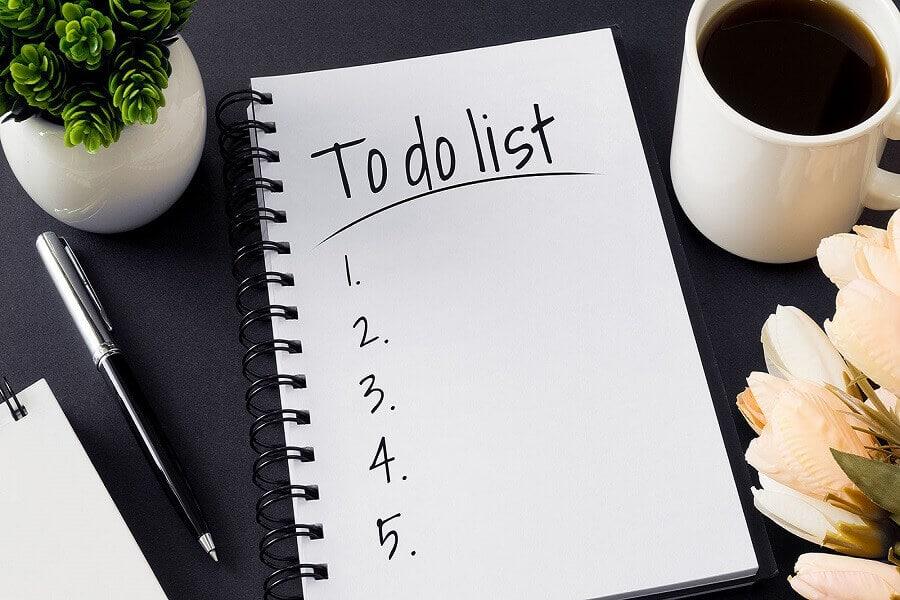 danh sách việc cần làm