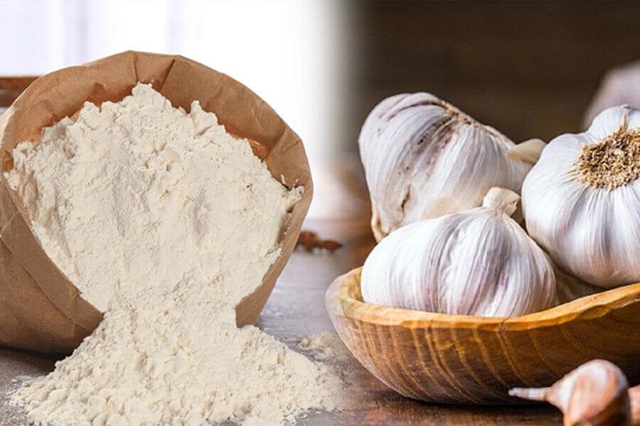 tỏi và bột mì