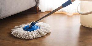 cách giặt cây lau nhà