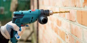 cách khoan tường không bụi