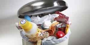 cách khử mùi thùng rác