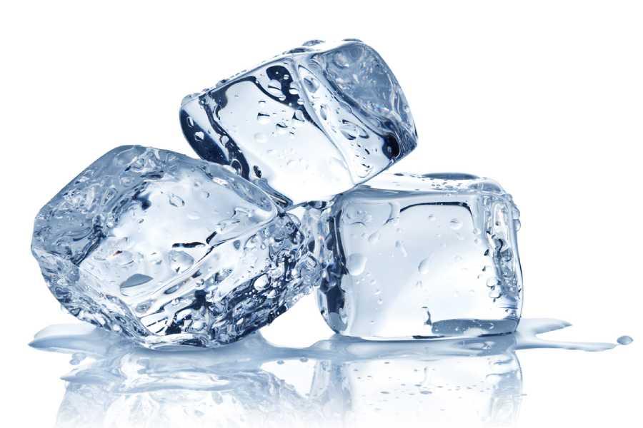 Tẩy keo dính chuột bằng đá lạnh