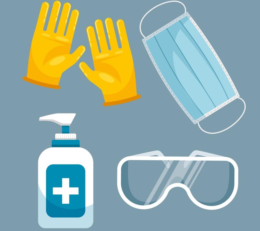 Những dụng cụ cần thiết khi làm nước rửa tay khô