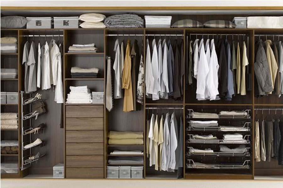 tủ quần áo tiết kiệm diện tích