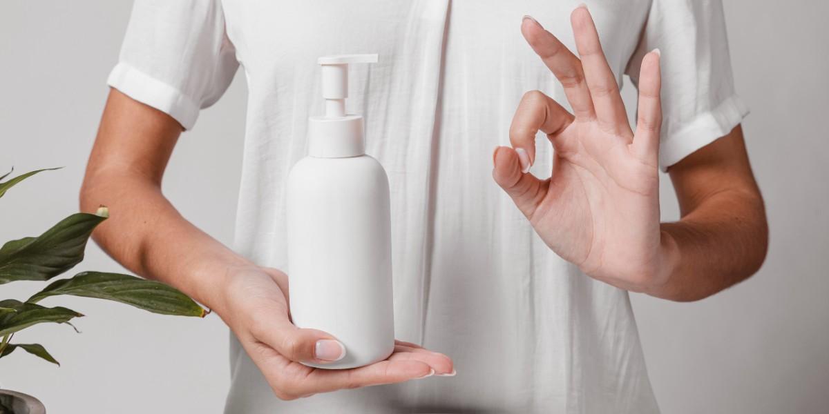 Làm nước rửa tay khô đơn giản