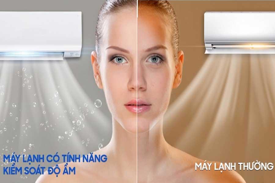 máy lạnh tạo độ ẩm