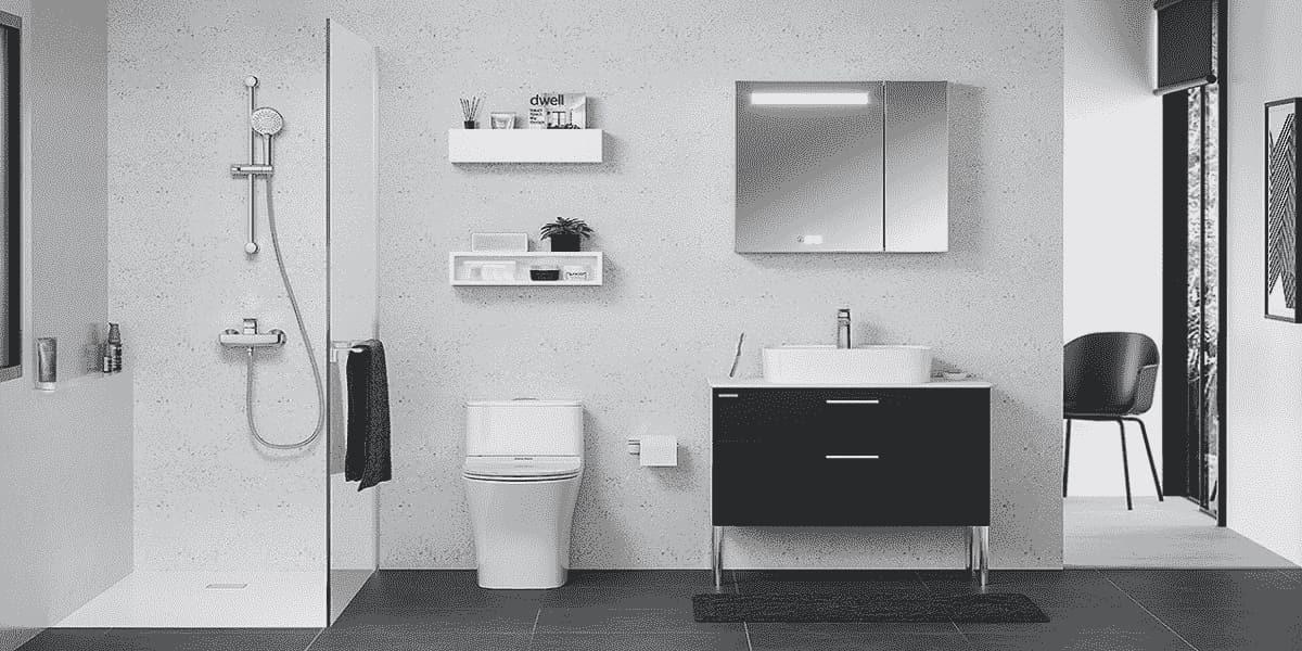 các vật dụng cần thiết trong nhà tắm