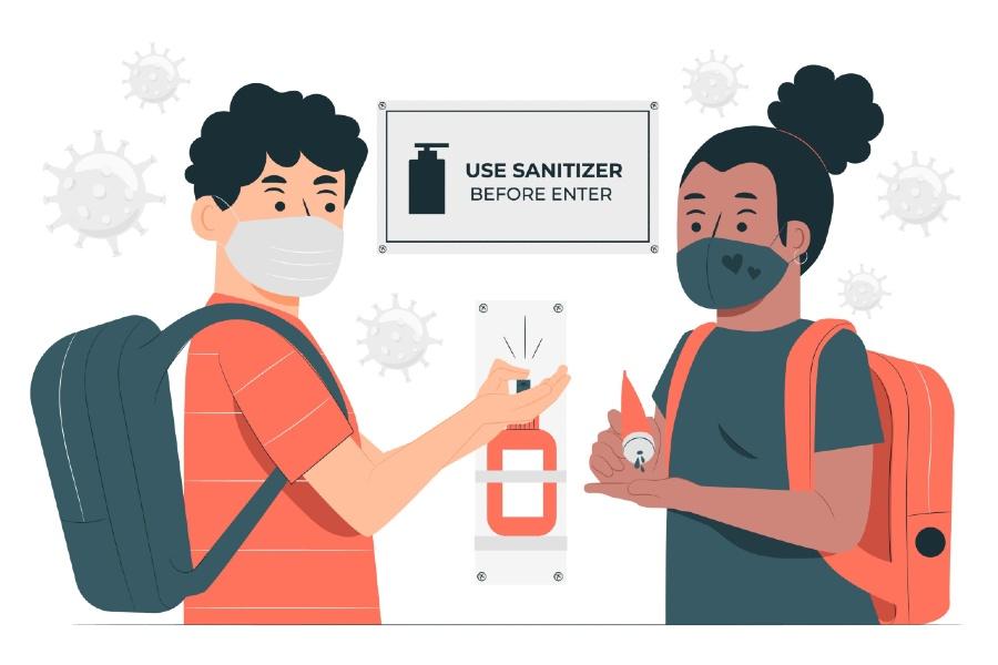 Làm nước rửa tay khô với thành phần đơn giản