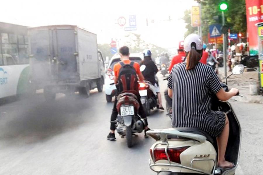 ô nhiễm giao thông