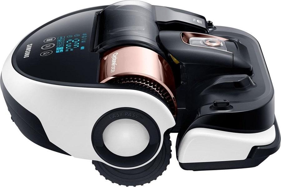 kiểu dáng hiện đại của robot hút bụi
