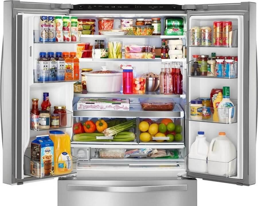 Tủ lạnh chứa quá nhiều thực phẩm