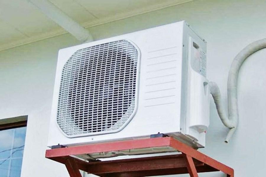 vệ sinh cục nóng máy lạnh âm trần
