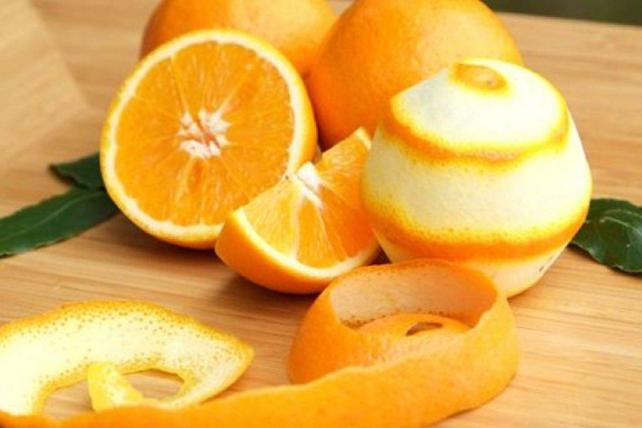 Vỏ cam chanh đem lại nhiều lợi ích