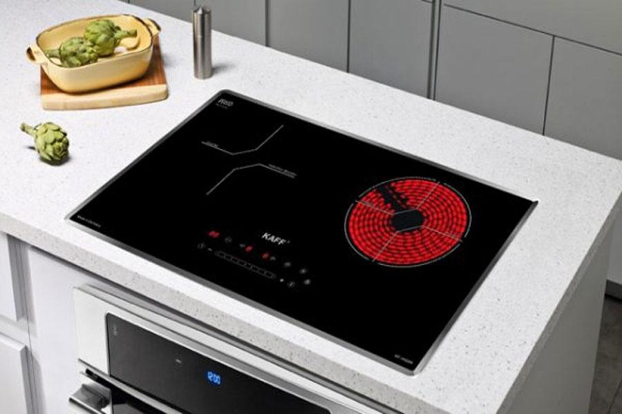 Bếp hồng ngoại nóng