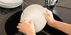 cách rửa chén sạch