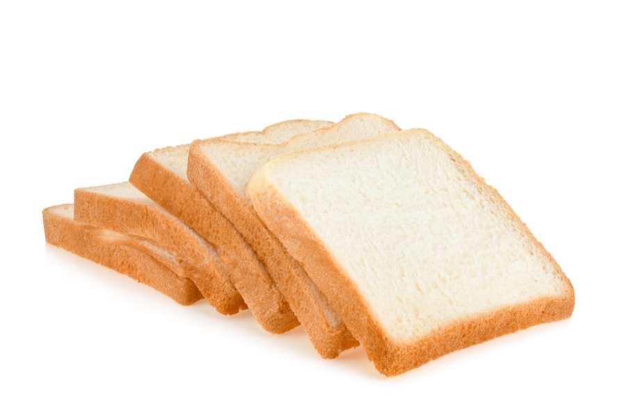 Dọn mảnh vỡ thủy tinh bằng bánh mì sandwich